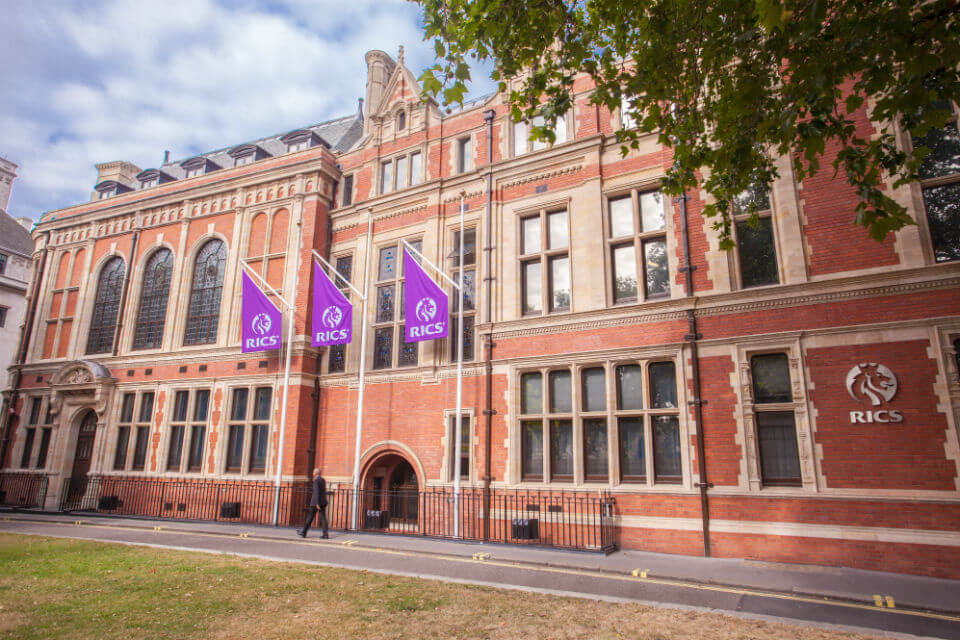 rics head office in london